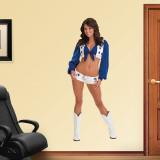 Melissa Kellerman- Dallas Cowboys Cheerleaders Kalkomania ścienna