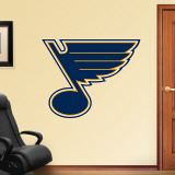 St. Louis Blues Logo Wall Decal