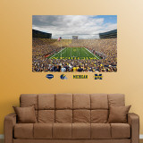 Michigan Stadium Mural Wall Decal