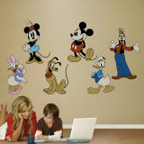 Classic Mickey &amp; Friends Wall Decal