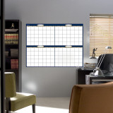 4 Month Dry Erase Calendar Wall Decal