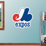Montreal Expos Throwback Logo Wall Decal