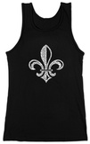 Juniors: Tank Top - Saints Go Marching In Fleur De Lis T-Shirt