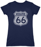 Juniors: Route 66 T-Shirt