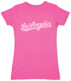 Juniors: Los Angeles Neighborhoods T-shirts
