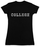 Women's: College Drinking Games (Slim Fit) T-shirts