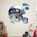 Seattle Seahawks Throwback Helmet Wall Decal