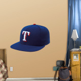 Texas Rangers New Era Cap Wall Decal