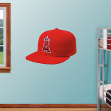 LA Angels New Era Cap Wall Decal