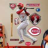 Brandon Phillips Wallstickers