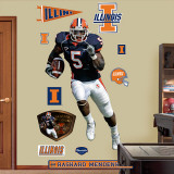 Rashard Mendenhall Illinois Wall Decal