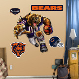 Chicago Bears Bruiser Bear Wall Decal