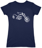 Juniors: Motorcycle Slang Terms T-Shirt