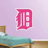 Pink Tigers Logo   Wall Decal