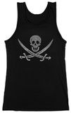 Juniors: Tank Top - Pirate Flag Shirt