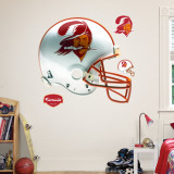 Tampa Bay Buccaneers Throwback Helmet Wall Decal