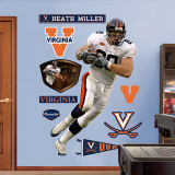 Heath Miller Virginia Wall Decal