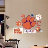 Clemson - Fathead Junior Logosheet Muursticker