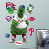 Phillie Phanatic Phillies Mascot Wall Decal