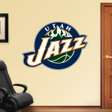 Utah Jazz 2010 Logo Wall Decal