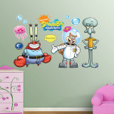 SpongeBob&#39;s Friends Wall Decal