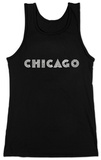 Juniors: Tank Top - Chicago Neighborhoods T-Shirt