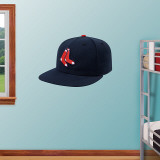 Boston Red Sox Alt. New Era Cap Wall Decal