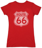 Juniors: Route 66 T-shirts