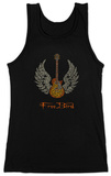 Juniors: Tank Top - Freebird Lyrics Womens Tank Tops