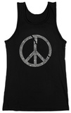 Juniors: Tank Top - Broken Peace Womens Tank Tops