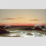 Seascape: Sunset Wall Decal