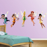 Duszki Disney'a (Disney Fairies) Kalkomania ścienna