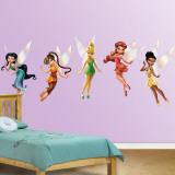 Disney-elfjes Muursticker