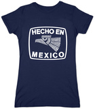 Juniors: Hecho En Mexico T-shirts