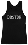 Juniors: Tank Top - Boston Neighborhoods T-shirts