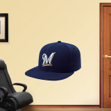 Milwaukee Brewers New Era Cap Wall Decal
