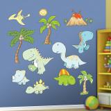 Baby Dinosaurs Adhésif mural