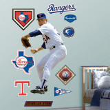 Nolan Ryan Rangers Wall Decal
