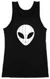 Juniors: Tank Top - I Come in Peace Alien Womens Tank Tops