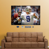 Tony Romo Closeup Mural Wall Decal