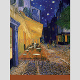 Café-Terrace at Night Wall Decal