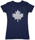 Juniors: Canada National Anthem T-Shirt