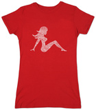 Juniors: Mudflap Girl T-shirts