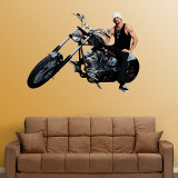 Kid Rock Biker Wall Decal