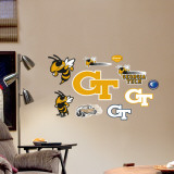 Georgia Tech - Fathead Junior Logosheet Wall Decal