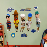 Sausage Race Brewers Mascot Wall Decal