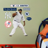 CC Sabathia - Fathead Junior Wall Decal