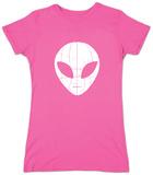 Juniors: I Come in Peace Alien Shirt