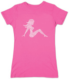 Juniors: Mudflap Girl T-Shirt