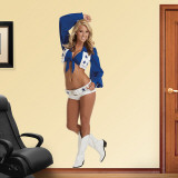 Cassie Trammell- Dallas Cowboys Cheerleaders Adhésif mural
